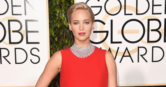 Jennifer Lawrence - Golden Globe Awards 2016