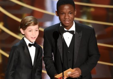 Jacob Tremblay e Abraham Attah - Oscars 2016
