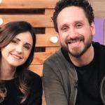 Cantor gospel Leonardo Gonçalves conheceu Glauce na TV Novo Tempo.
