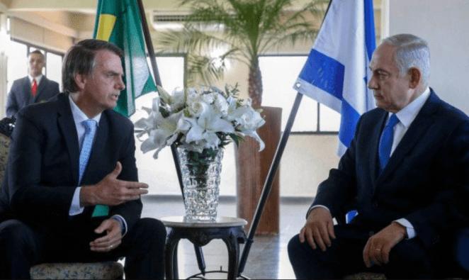 Presidente Bolsonaro recebeu o presidente de Israel no início do ano.