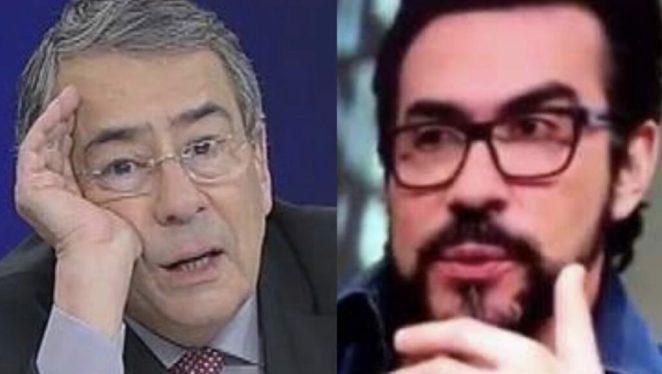 Paulo Henrique Amorim e Padre Fábio de Melo.