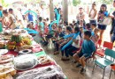 O Centro Educacional Holiens Camargo da Vila de Balbina festeja com os pais e alunos encerramento do ano letivo