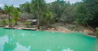 Você já visitou a Lagoa Azul em Presidente Figueiredo-Am?