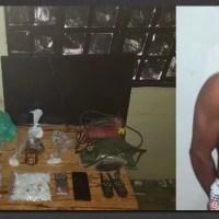 Polícia Civil prende traficante na Comunidade Boa Esperança, em Presidente Figueiredo