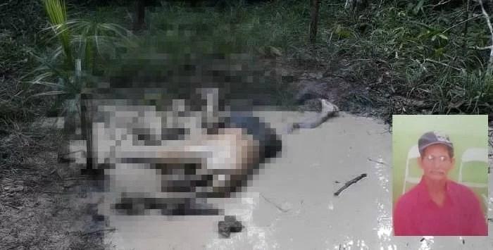 Agricultor é encontrado morto em sítio no Km 127 da BR 174, em Presidente Figueiredo