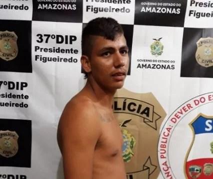 """""""Sandriel"""" apronta mais uma e é preso novamente em Presidente Figueiredo"""