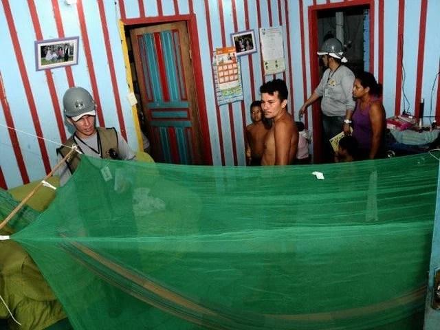 No AM, mais de 134 mil pessoas devem receber mosquiteiros para combate à malária