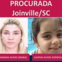 MENINA DE 07 ANOS DESAPARECIDA DE JOINVILLE/SC HÁ DOIS ANOS PODE TER SIDO VISTA NA CORREDEIRA DO URUBUI