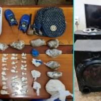 OPERAÇÃO POLICIAL APREENDE DROGAS EM VILA DE BALBINA, SUSPEITOS FUGIRAM.
