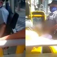 Cobrador de ônibus mostra pênis para criança, mãe grava e sofre ameaça