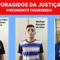 TRÊS DETENTOS SERRAM GRADES E FOGEM DA CARCERAGEM EM PRESIDENTE FIGUEIREDO