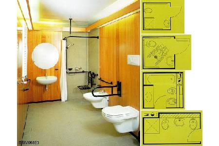 Arredo bagno handicap design casa creativa e mobili u design per