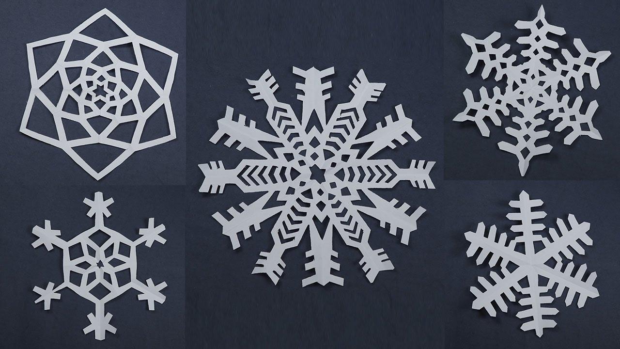 Fiocchi Di Neve Di Carta Realizzali Con Il Foto Tutorial