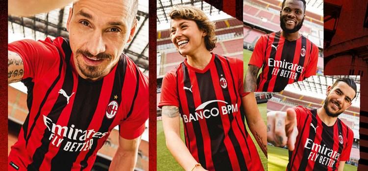 Camisa do Milan 2022