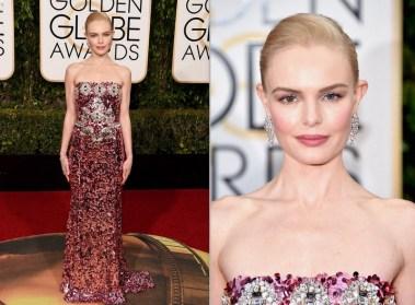 Kate Bosworth veste Dolce & Gabbana e joias Norman Silverman