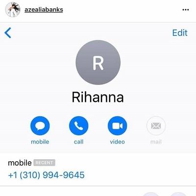 Rihanna e Azealia Banks telephone Portal Fama