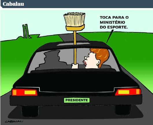 CHARGE ELETRÔNICA: ENQUANTO ISSO EM BRASÍLIA…