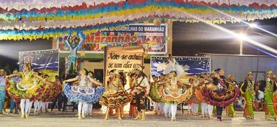 Explode Coração: campeã do Festival de Quadrilhas do Maranhão