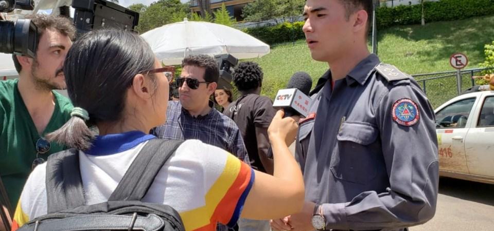 Quem é o bombeiro de 25 anos que informa o país sobre a tragédia de Brumadinho