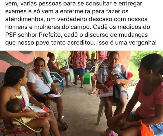 Vice-prefeito denuncia descaso e cobra funcionalidade no PSF de Coelho Neto