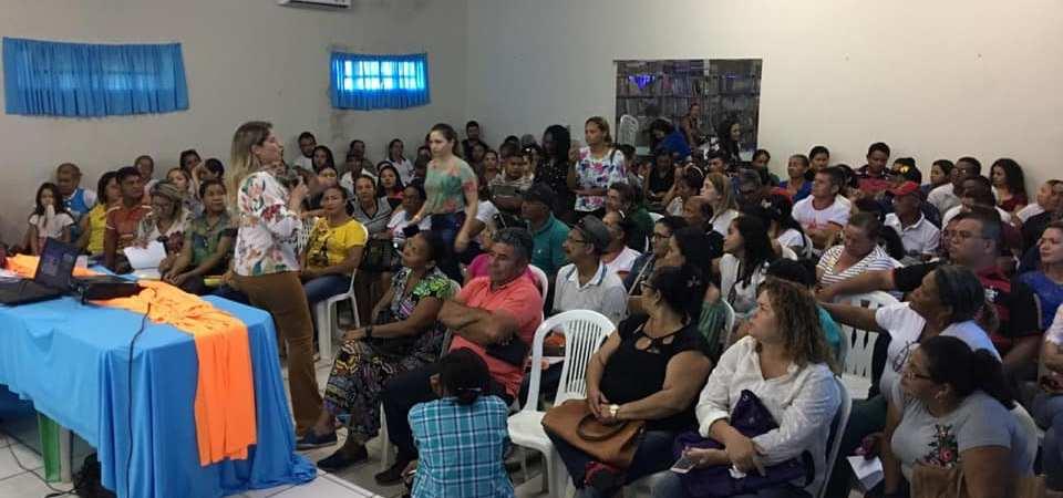 Agentes de Saúde de Chapadinha recebem capacitação na área da Assistência Social