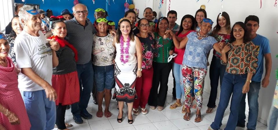 Prefeitura promove Carnaval dos Idosos em Duque Bacelar