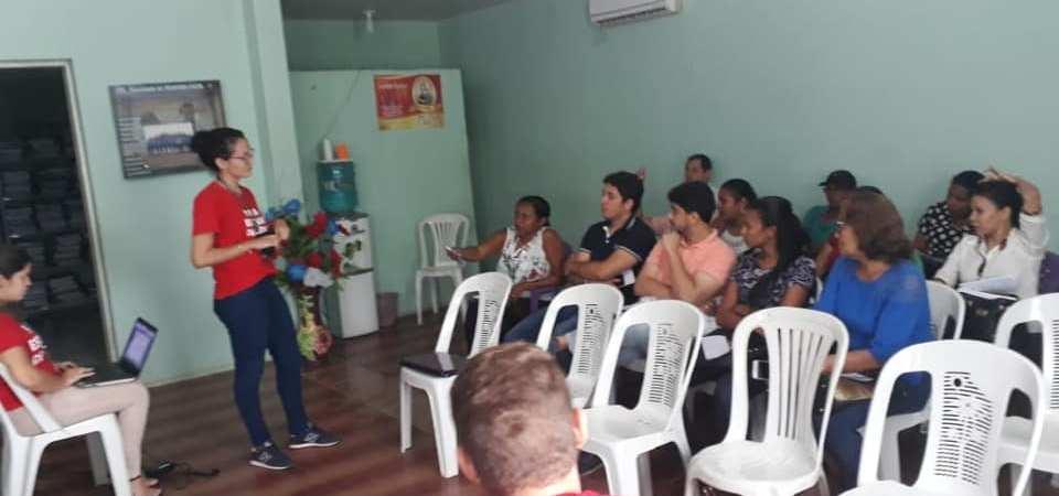 Saúde reúne profissionais para capacitação do Selo UNICEF em Afonso Cunha