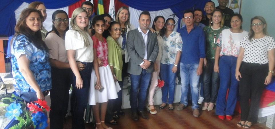 Solenidade concorrida marca posse da secretária de Saúde de Afonso Cunha no comando da CIR Caxias