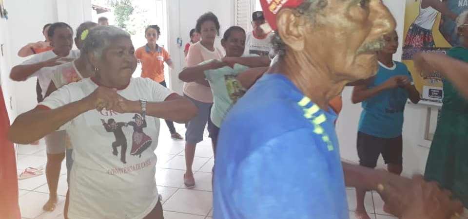 Prefeitura de Afonso Cunha oferece atividade física a idosos