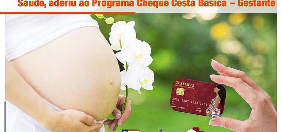 Chapadinha garante adesão ao programa Cheque Cesta Básica – Gestante