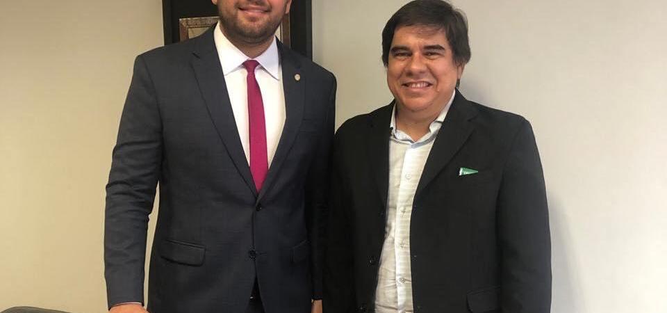 Marreca Filho se reúne com diretor do IFMA de Imperatriz