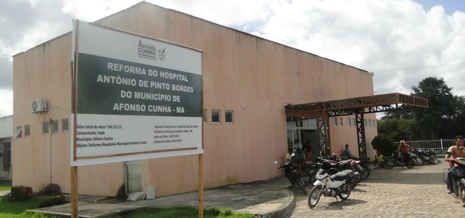 Reforma do Hospital de Afonso Cunha segue a todo vapor; Enfermarias serão climatizadas