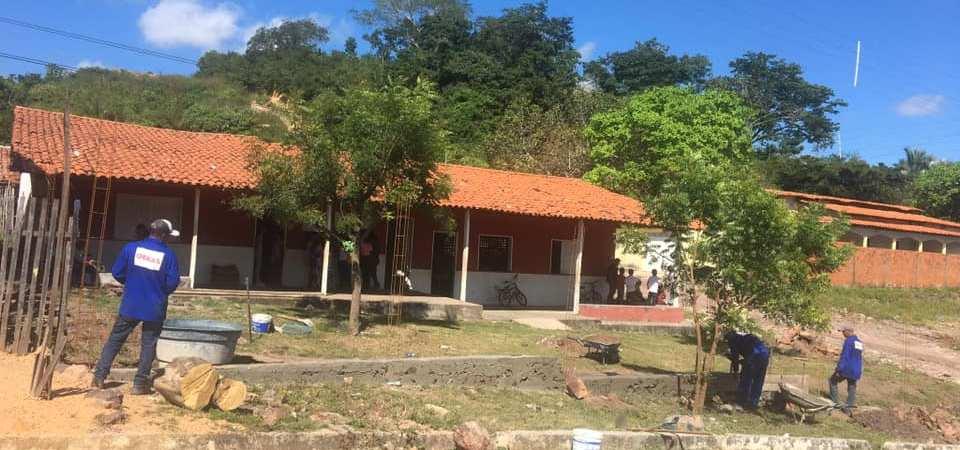 Prefeitura de Afonso Cunha realiza requalificação do prédio de anexo escolar