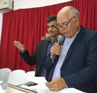 Jorge Oliveira se licencia e Carreta assume a Prefeitura de Duque Bacelar