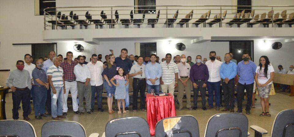 Bruno Silva recebe apoio de cúpula da Igreja Assembleia de Deus Missão de Coelho Neto