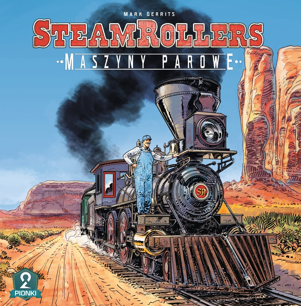 SteamRollers Cover