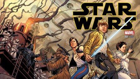 Star Wars Marvel 001