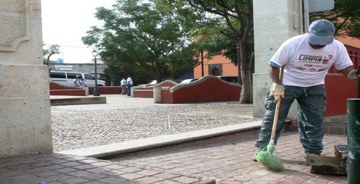 Sector servicios se suma a Guanajuato Limpio
