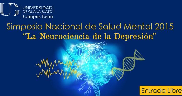 """Se llevará a cabo el Simposio Nacional de Salud Mental """"Neurociencia de la depresión"""""""