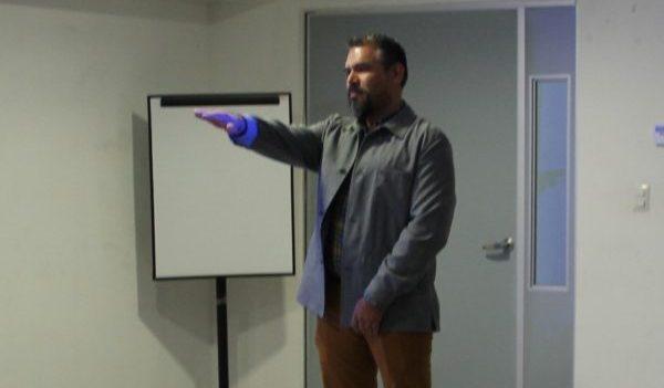 El Dr. Víctor Jiménez Arredondo rindió protesta como Director del Departamento de Arte y Empresa