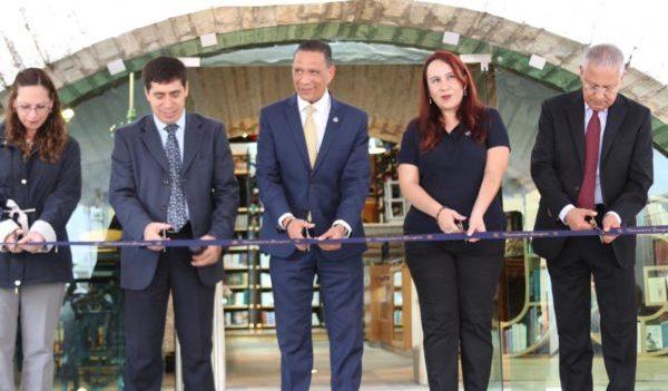 Reinauguran la Librería UG, ahora en el emblemático Edificio Central