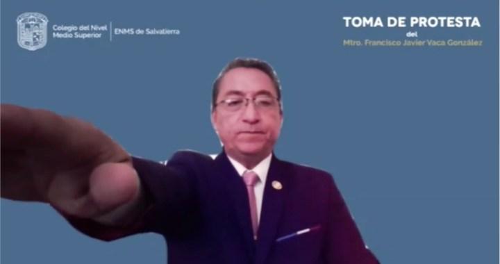 Rinde protesta nuevo director ENMS Salvatierra