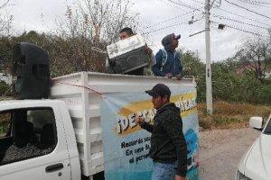 Instalan centros de acopio de cacharros en la capital