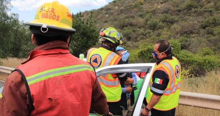 Tres heridos en accidentes viales