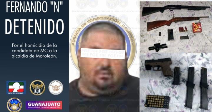 Capturan a Fernando 'N', presunto responsable de la muerte de Alma Barragán