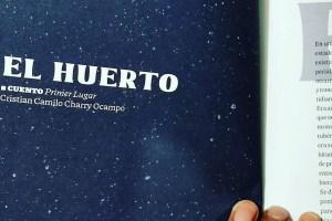"""Estudiante UG gana primer lugar con """"El huerto"""", un sueño que se hizo cuento"""