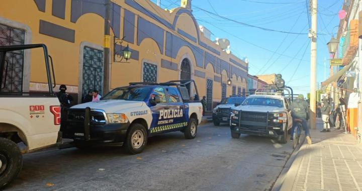 Gobierno estatal toma el mando de seguridad en Juventino Rosas