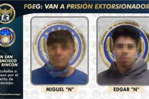 Vinculan a proceso a extorsionadores de San Francisco del Rincón