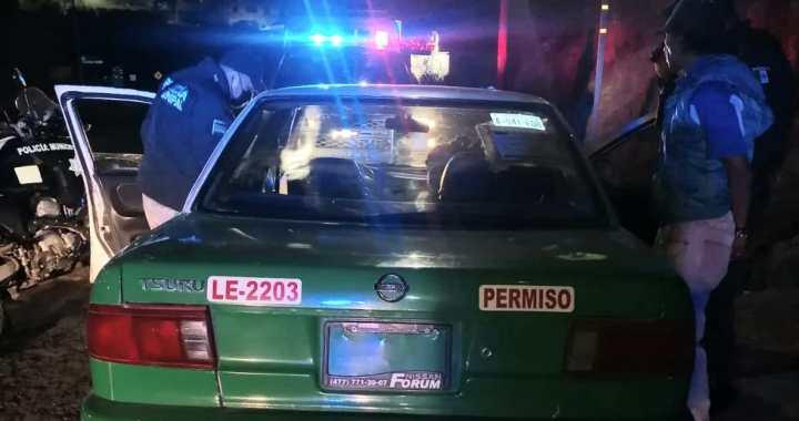 Capitalinos conducían taxi ajeno con droga