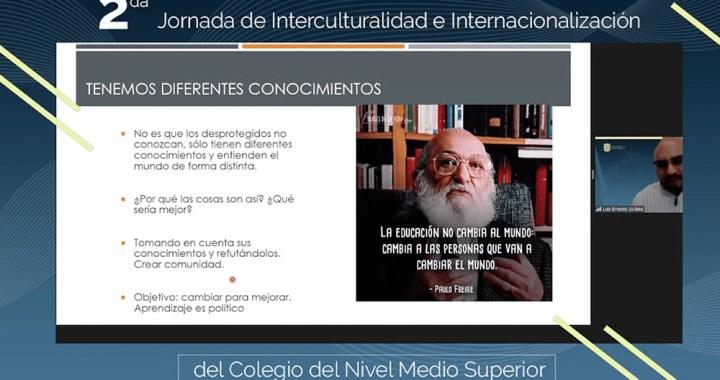 Reflexionan en CNMS UG sobre la Interculturalidad e Internacionalización